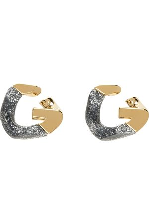 Givenchy Two-Tone G Chain Earrings