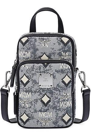 MCM Jacquard Monogram Crossbody Bag