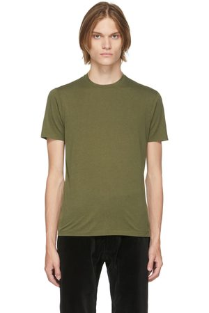 TOM FORD Green Jersey T-Shirt