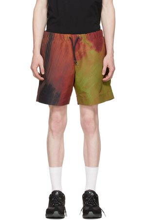 PS by Paul Smith Red Brush Stroke Shorts