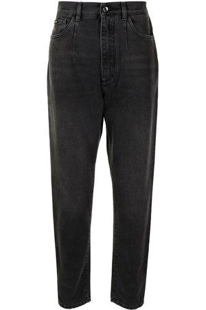 Dolce & Gabbana Men Tapered - High-waisted tapered jeans