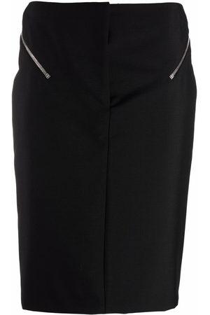 Givenchy Zip-embellished pencil skirt