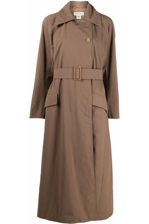 Dries Van Noten Pre-Owned 1990s belted long trench coat
