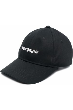 Palm Angels Men Hats - Logo-embroidered baseball cap