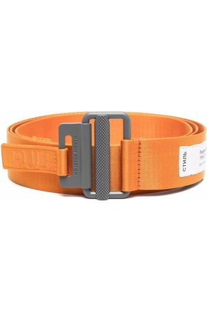 Heron Preston Tape logo belt