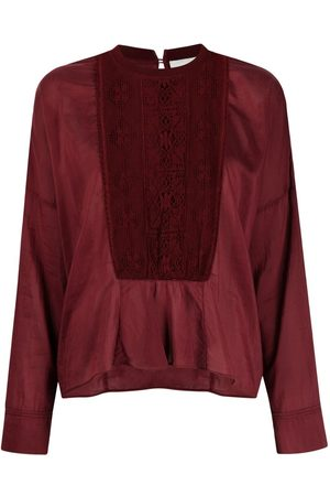 Forte Forte Women Long Sleeve - Embroidered long-sleeve top
