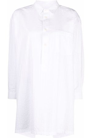 HENRIK VIBSKOV Women Long Sleeve - Pinstripe-pattern shirt