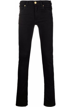 VERSACE Men Skinny - Logo-patch skinny-cut jeans