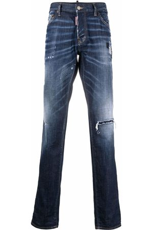 Dsquared2 Ripped stonewashed jeans