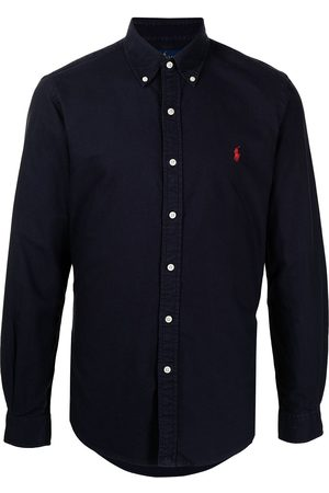 Polo Ralph Lauren Men Long Sleeve - Embroidered logo buttoned shirt