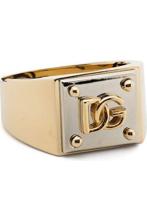 Dolce & Gabbana Two-tone logo ring