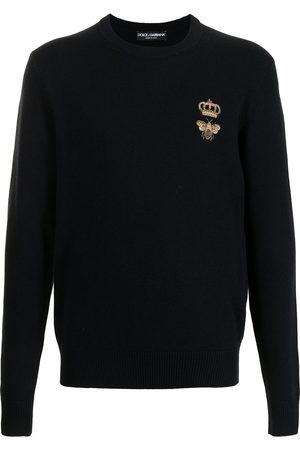 Dolce & Gabbana Logo-patch jumper