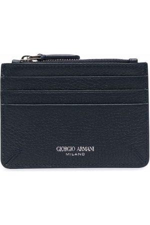 Armani Zipped leather cardholder