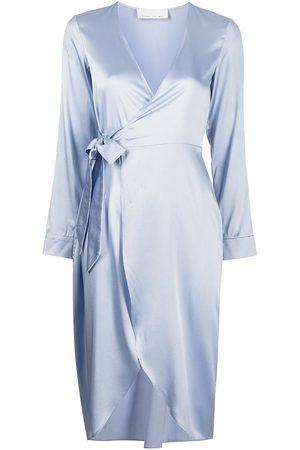 Fleur Du Mal Wrap-tie silk robe