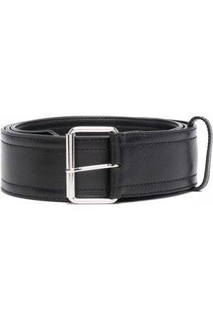 Alexander McQueen Leather-strap belt