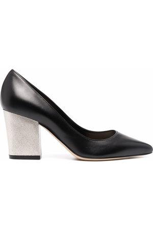 Sergio Rossi Women Pumps - Nappa Seventy block-heel pumps