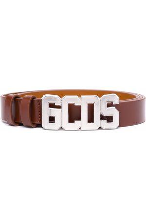 GCDS Men Belts - Logo buckle belt