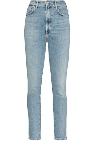 AGOLDE Pinch high-waisted skinny jeans