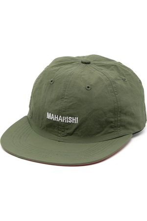 Maharishi Men Hats - Embroidered-logo flat cap