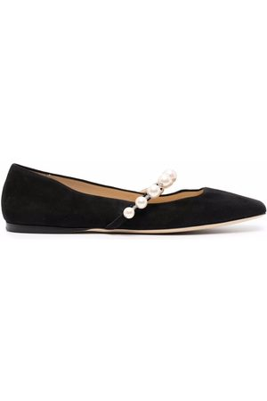 Jimmy Choo Ade square-toe ballerina shoes