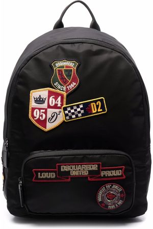 Dsquared2 Rucksacks - Embroidered-logo patch backpack