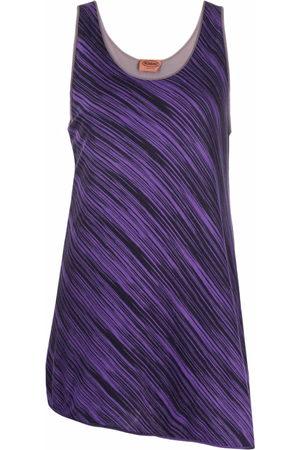 Missoni Women Tank Tops - 2000s striped sleeveless top