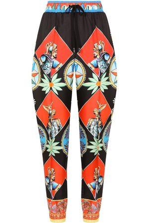 Dolce & Gabbana Carreto print track pants