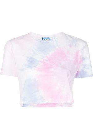 LHD Women Short Sleeve - Janis tie-dye cropped T-shirt