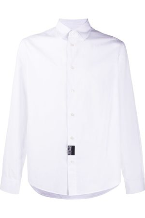 Versace Jeans Couture Slogan-print long-sleeved shirt