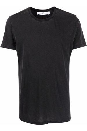 IRO Men Short Sleeve - Faded crewneck T-shirt
