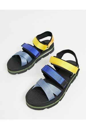 Tommy Hilfiger Sandals with multi colour straps in