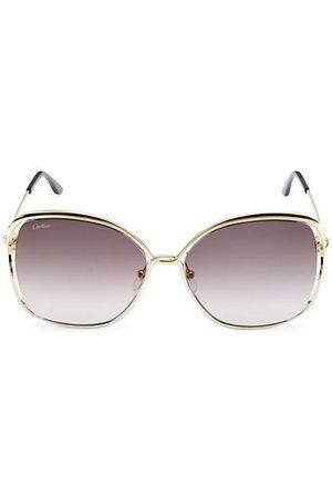 Cartier Sunglasses - 60MM Round Sunglasses