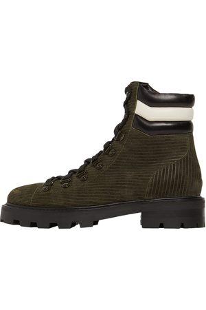 Jimmy Choo 30mm Eshe Corduroy Suede Hiking Boots