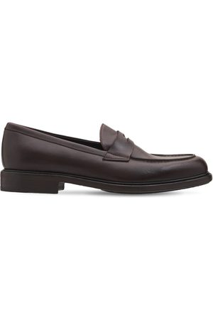 Pantanetti 30mm Leather Penny Loafers