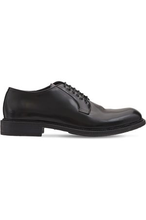 Pantanetti Men Footwear - 30mm Leather Derby Lace-up Shoes