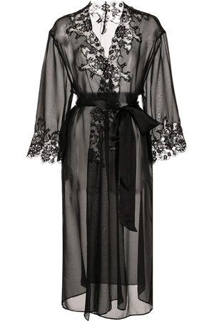 Kiki de Montparnasse Orchid lace robe