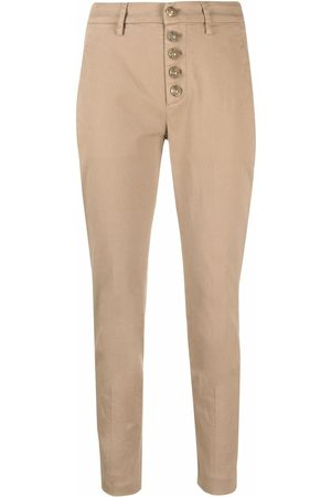 Dondup Cropped skinny-fit trousers