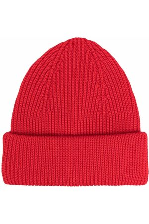 Roberto Collina Men Beanies - Ribbed-knit wool beanie