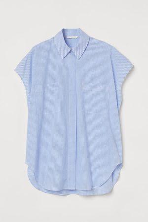 H&M Sleeveless cotton blouse