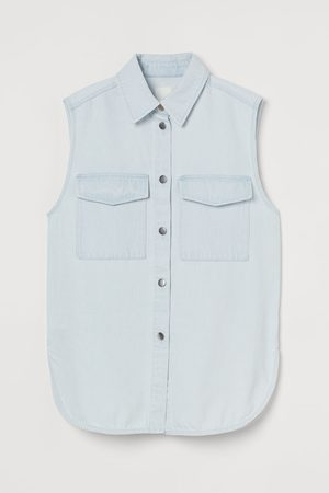 H&M Sleeveless shirt jacket