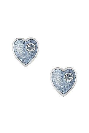 Gucci XS Heart Earrings in &