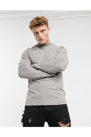 New Look Organic cotton long sleeve turtle neck in