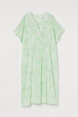 H&M V-neck kaftan dress