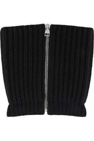 Alexander McQueen Wool & Cashmere Zip Scarf
