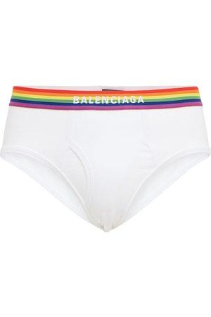 Balenciaga Pride Cotton Blend Briefs