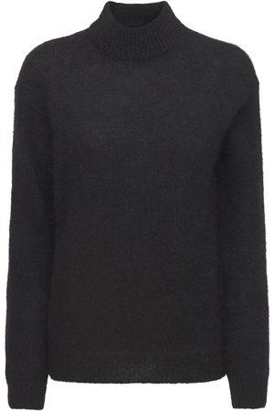 Tom Ford Women Turtlenecks - Mohair Blend Knit Turtleneck Sweater