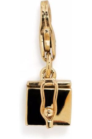 TOM WOOD Necklaces - Box Charm 9kt yellow pendant