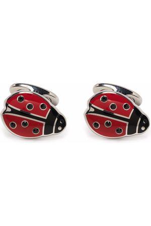 Etro Brass ladybird cufflinks