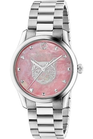 Gucci G-Timeless Iconic 38mm Watch in Steel