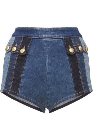 Dsquared2 Stretch Cotton Hot Pants